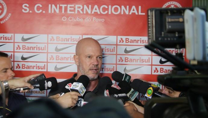 Antônio Carlos Zago técnico Inter Vieirão (Foto: Eduardo Deconto / GloboEsporte.com)