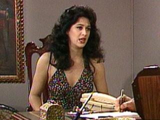 Claudia Raia como Tancinha em Sassaricando, 1987 (Foto: Vídeo Show/TV Globo)