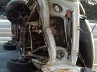 Acidente com Kombi deixa dois feridos e um morto na BR-408