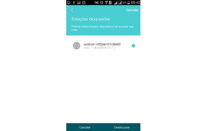 Selecione quais dispositivos quer desbloquear e liberar acesso ao Wi-Fi (Foto: Reprodução/Isabela Giantomaso)