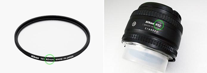 Filtros ajudam a proteger as lentes contra poeira, arranhões ou pequenos choques (Foto: Reprodução/Nikon)