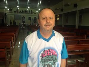 Padre Dom Roque Paloschi em Porto Velho (Foto: Matheus Henrique/G1)