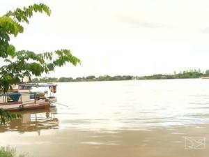 Nível aumentou cinco metros e já começou a mudar a rotina dos ribeirinhas em Imperatriz, MA (Foto: Reprodução/TV Mirante)