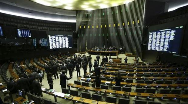 Spb protestos, texto foi aprovado por 231 a favor, 188 contra e 8 abstenções (Foto: Agência Brasil)