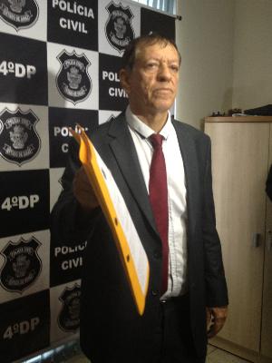 Delegado responsável pelo caso informou que funcionários da clínica foram ouvidos Goiás Goiânia (Foto: Vanessa Martins/G1)