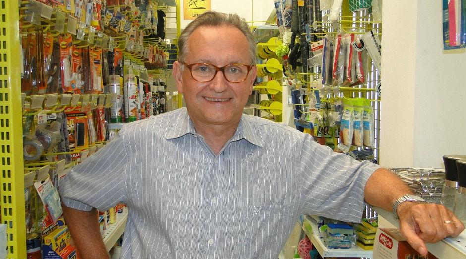 Lindolfo Martin, fundador da Multicoisas, começou a empreender em 1978 (Foto: Divulgação)