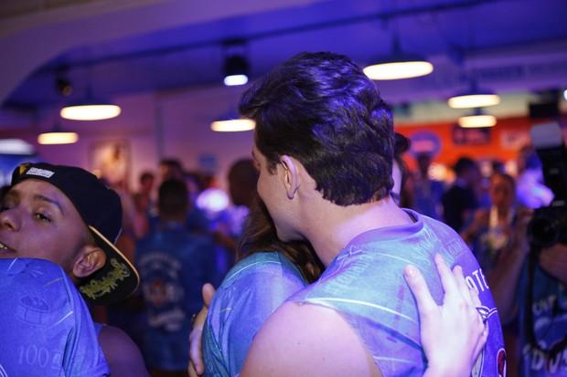 Monica Iozzi e Klebber Toledo (Foto: Divulgação / Camarote BOA)