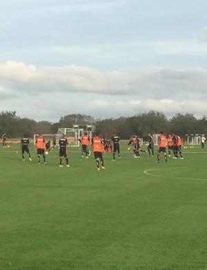 Corinthians treino Orlando (Foto: Diego Ribeiro)