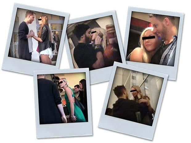 Em seu site, o instrutor Julian Blanc exibe fotos com diferentes mulheres (Foto: Reprodução/pimpingmygame.com)