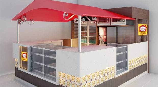 Casa da Empada lançará novo formato de quiosque   (Foto: Divulgação)