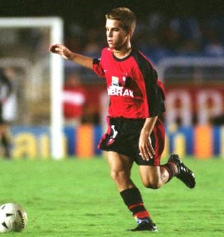 Nélio jogador do Flamengo (Foto: Carlos Moraes / Ag. O Dia)
