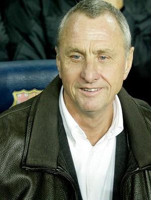 Cruyff, treinador da Catalunha (Foto: AFP)