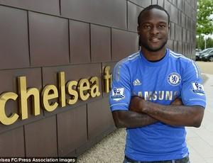 Ex-Wigan, Moses chega ao Chelsea (Foto: Divulgação / Site oficial)