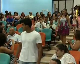 jovens de Três Rios se formam no programa Aprendiz Legal (Foto: Reprodução RJTV 2ª Edição)