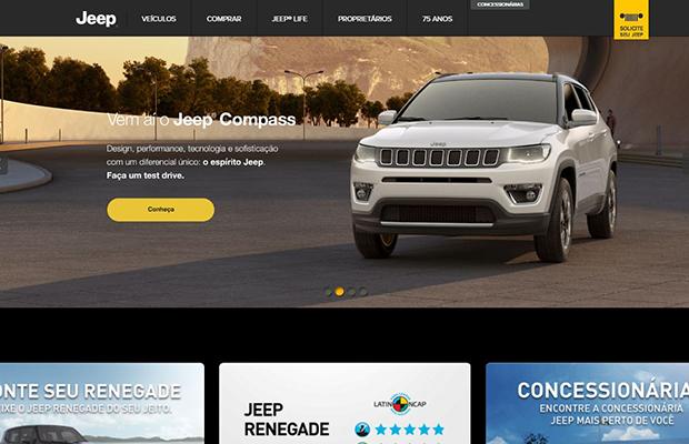 Jeep foi eleita a Marca Digital do Ano 2017 (Foto: Reprodução)
