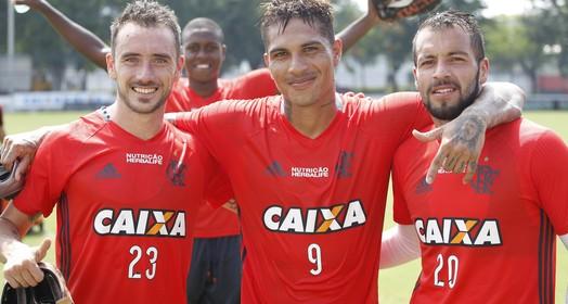 Los Gringos (Gilvan de Souza / Flamengo.com.br)