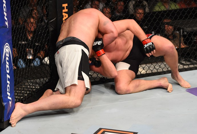 Josh Barnett e Ben Rothwell, UFC: Johnson x Bader (Foto: Getty Images)