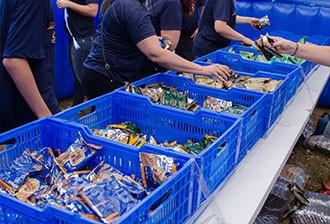 Durante o evento, haverá distribuição de brindes (Foto: Rodrigo Oliveto)