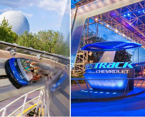 Projete seu carro e teste o seu protótipo no Test Track (Foto: Divulgação/Walt Disney World)