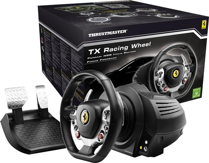TX é o volante top de linha da Thrustmaster para Xbox One (Foto: Divulgação/Thrustmaster)