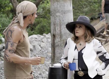 Sophia manda garimpeiro espionar Mariano