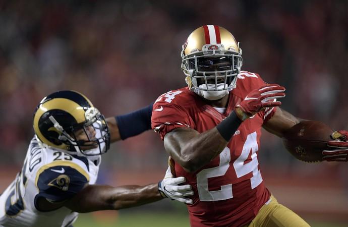 Shawn Draughn San Francisco 49ers NFL (Foto: Reuters)