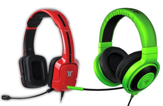 Quem tem o melhor headset? Razer ou Tritton (Foto: Montagem / Dario Coutinho)