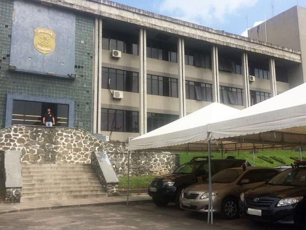 Sede da Polícia Federal em Salvador (Foto: Juliana Almirante/G1)