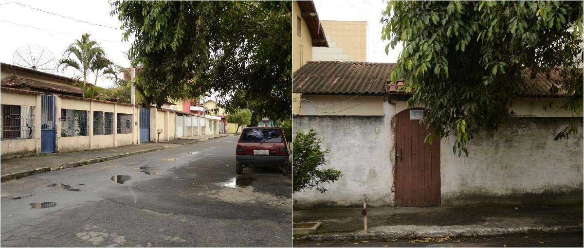 Casa onde Araceli viveu no Espírito Santo  (Foto: Viviane Machado/ G1)