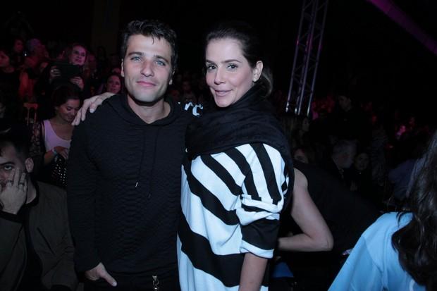 Bruno Gagliasso e Deborah Secco (Foto: Marcello Sá Barretto / AgNews)