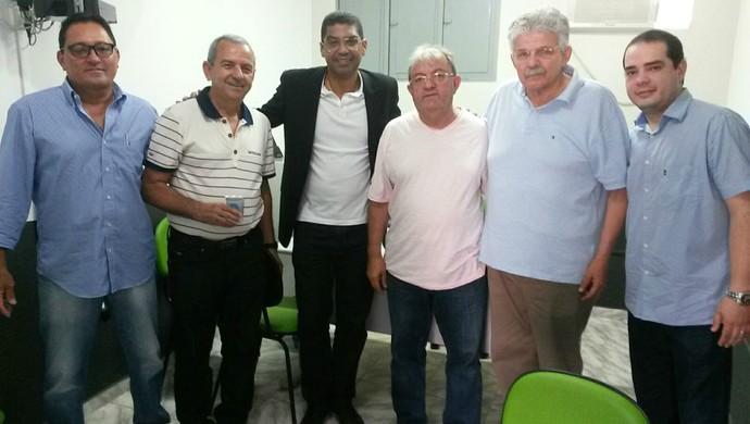 ABC - Narciso realiza a primeira reunião com os dirigentes do ABC (Foto: Divulgação/ABC)