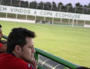 Argel Fucks, técnico do América-RN (Foto: Gabriel Peres/Divulgação)