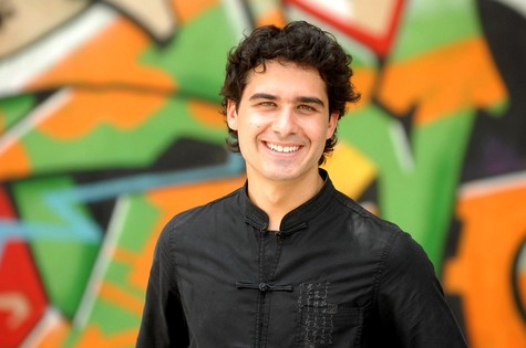 André Arteche (Foto: Alex Carvalho/ TV Globo)