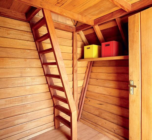 casa-na-arvore-madeira-eucalipto-reflorestamento-ricardo-brunelli-parte-interna (Foto: Victor Affaro/Editora Globo)