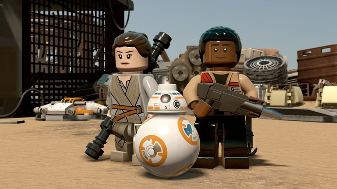 Inovações tornam LEGO Star Wars: The Force Awakens divertido (Foto: Divulgação/Warner)