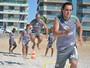 Sem clube desde que saiu do Tupi, Leandro Euzébio treina na Cabofriense