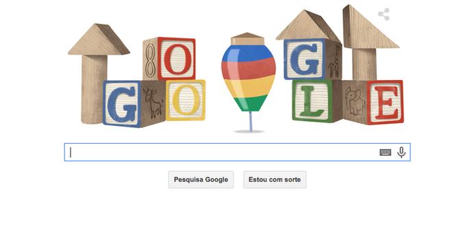 Dia Das Crianças é Tema De Doodle Animado Do Google