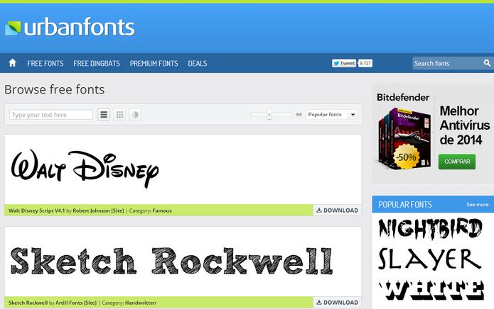 3873ccff3 Os melhores sites para baixar fontes para Photoshop | Dicas e ...
