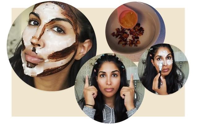 Play: blogueira de beleza ensina como fazer contouring sem usar nenhuma maquiagem