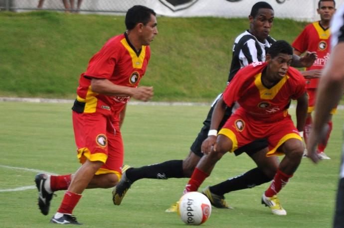 Jozicley, meia do Globo FC (Foto: Divulgação/ABC)