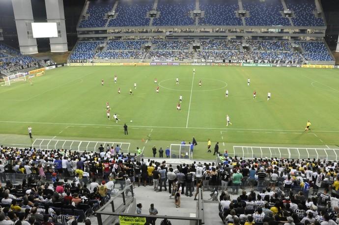 Com dois belos gols, Corinthians vence o Vitória por 2 a 1 na Arena Pantanal