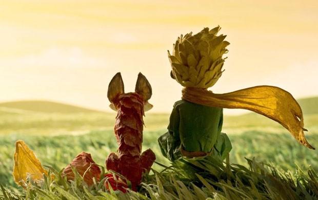 Cena da animação 'O pequeno príncipe', apresentada em Cannes nesta sexta-feira (22); é a primeira vez em que o livro de Saint-Exupéry ganha versão neste formato (Foto: Divulgação)