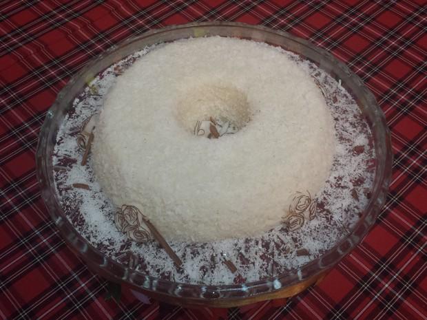 Bolo de tapioca (Foto: Ednardo Blast/TV Grande Rio)