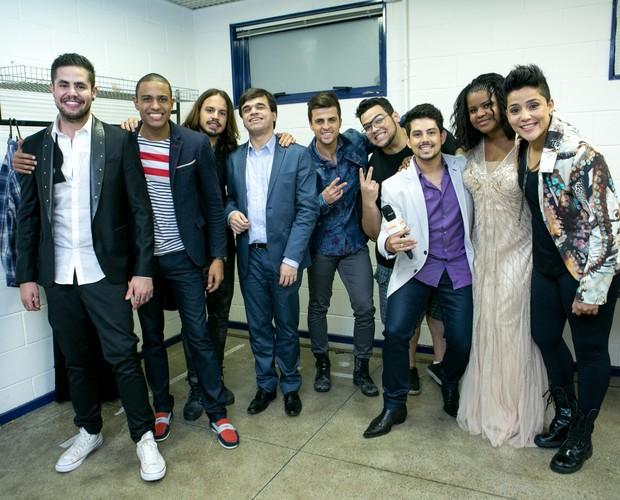 Cantores da terceira temporada revelam seus sonhos (Foto: Isabella Pinheiro/Gshow)