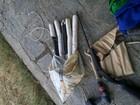 Dupla é presa com explosivos e veículo roubado no agreste da PB