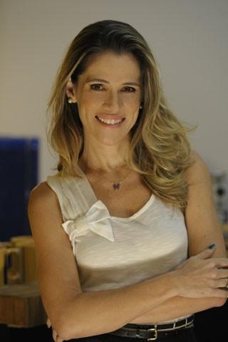 Ingrid Guimarães será Tina, uma mulher que sofre um desequilíbrio emocional (Foto: Estevam Avellar / TV Globo)