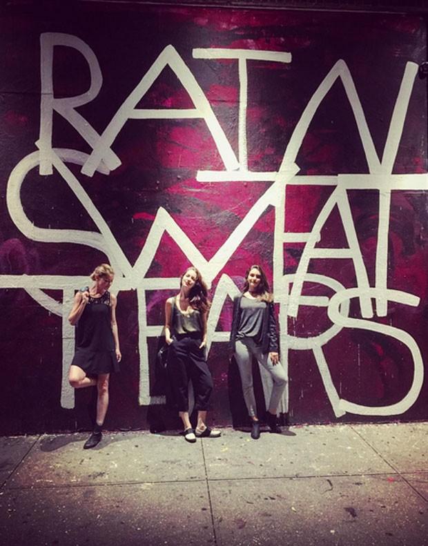 Alinne Moraes, Nathalia Dill e Marina Moschen (Foto: Reprodução)