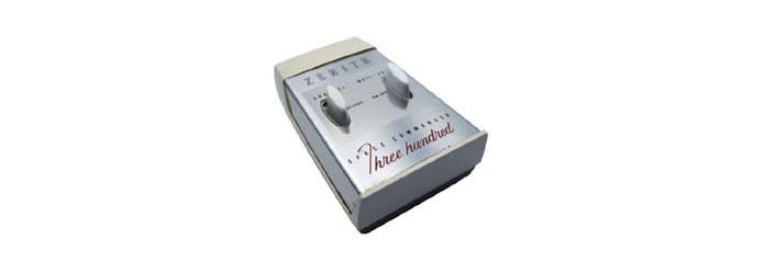 Primeiro controle remoto sem fio do mundo foi criado em 1955 (Foto: Divulgação/)