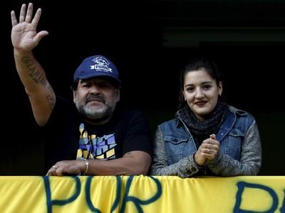 Maradona Tevez Boca x Quilmes (Foto: Reuters)