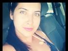 Priscila Pires acorda cedo para malhar: 'Projeto mamãe sarada'